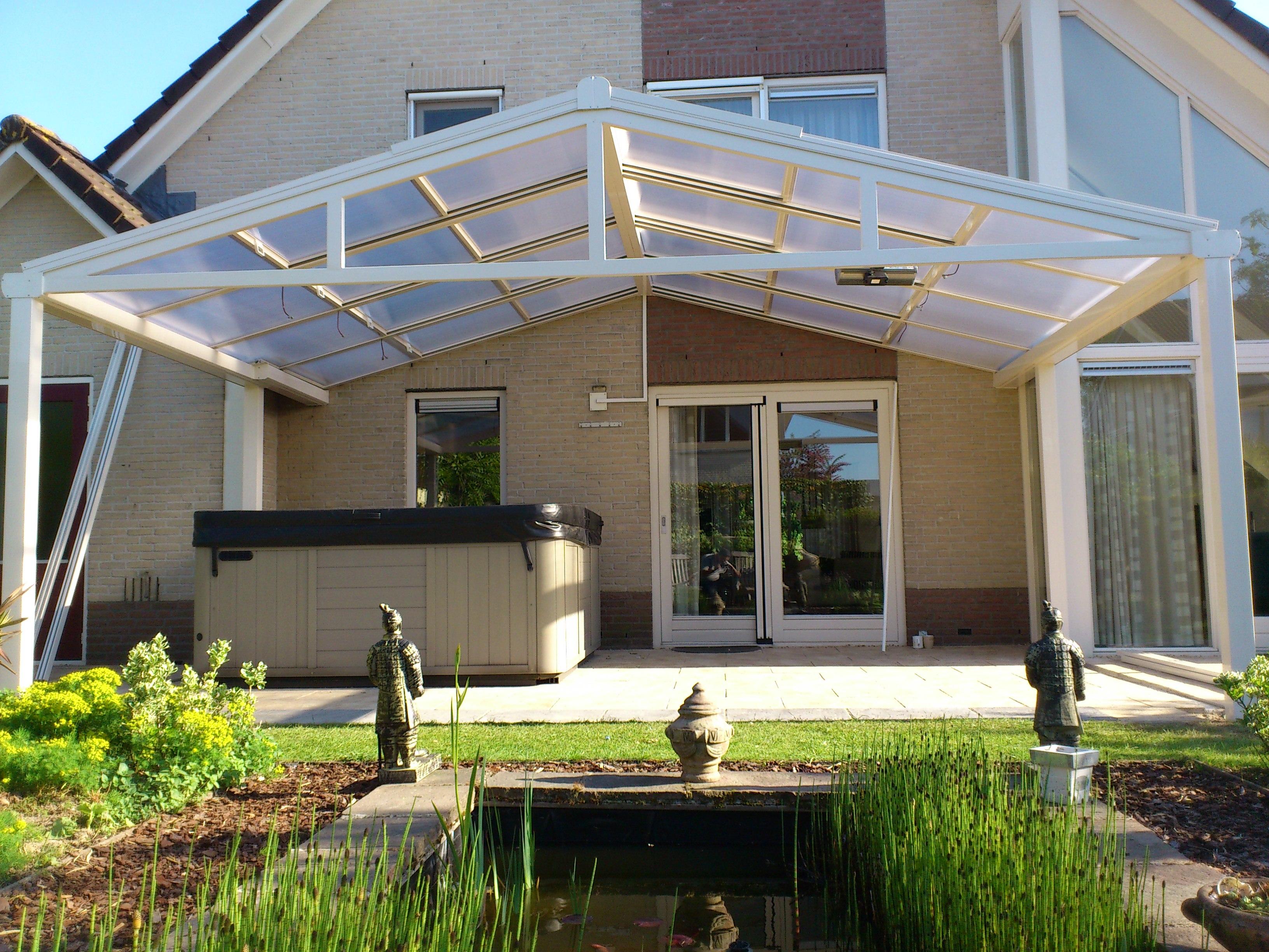 porche de techo de vidrio madrid para hosteleria ampliar