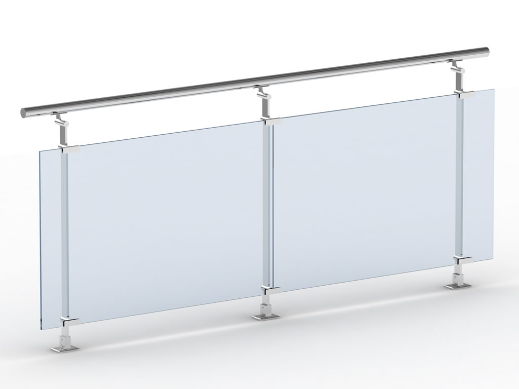 Barandillas cristal las barandillas de cristal son una gran opcin para espacios abiertos de - Barandillas de cristal ...